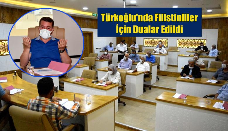 Türkoğlu Belediye Meclisinde Mescid-İ Aksa'daki Filistinliler İçin Dualar Edildi