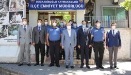 VALİ COŞKUN'DAN EMNİYET PERSONELİNE BAYRAM ZİYARETİ