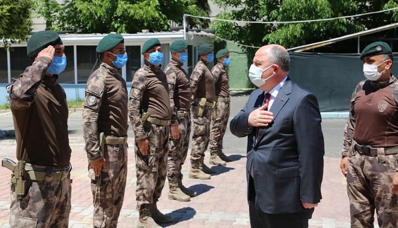 Vali Coşkun'dan Özel Harekât Polislerine ziyaret