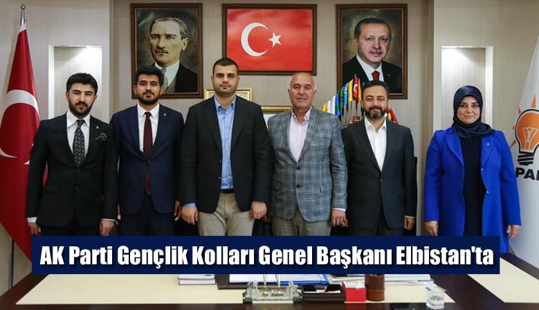 AK Parti Gençlik Kolları Genel Başkanı Elbistan'ta