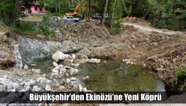 Büyükşehir'den Ekinözü'ne Yeni Köprü