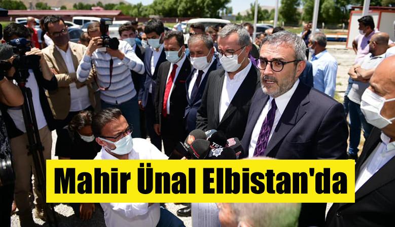 AK Parti Grup Başkanvekili Ünal Elbistan'da