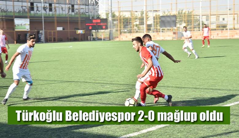 Türkoğlu Belediyespor 2-0 mağlup oldu