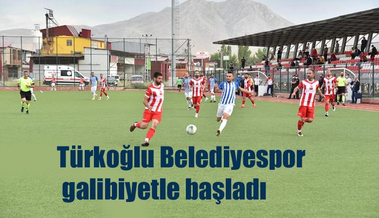 Türkoğlu Belediyespor sezona galibiyetle başladı