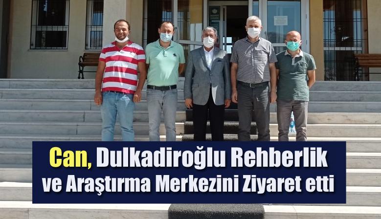 Can, Dulkadiroğlu Rehberlik ve Araştırma Merkezini Ziyaret etti
