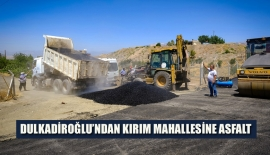 DULKADİROĞLU'NDAN KIRIM MAHALLESİNE ASFALT