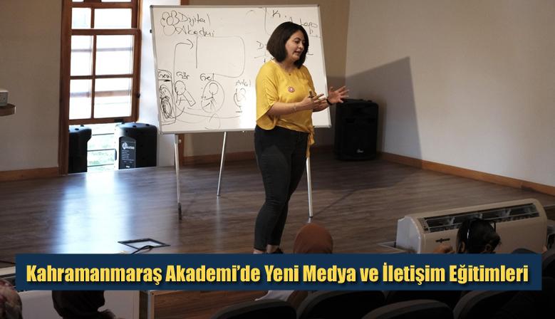 Kahramanmaraş Akademi'de Yeni Medya ve İletişim Eğitimleri