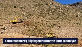 Kahramanmaraş Büyükşehir Hizmette Sınır Tanımıyor