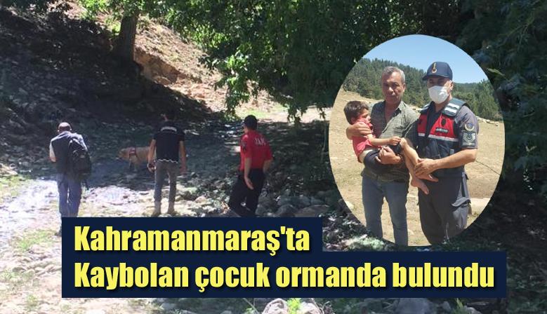 Kahramanmaraş'ta Kaybolan çocuk ormanda bulundu