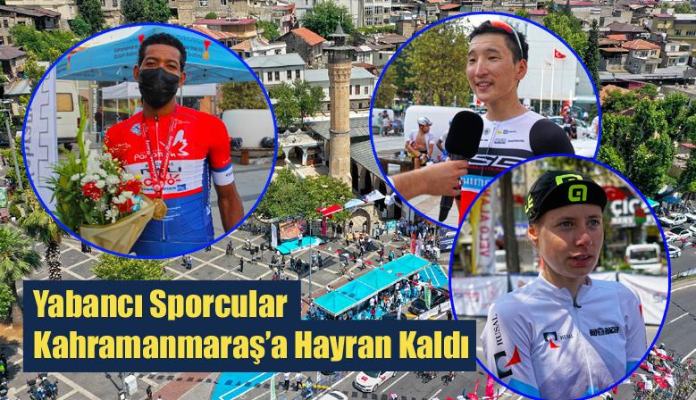 Yabancı Sporcular Kahramanmaraş'a Hayran Kaldı
