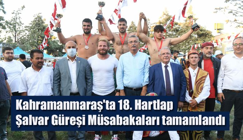 Kahramanmaraş'ta 18. Hartlap Şalvar Güreşi Müsabakaları tamamlandı