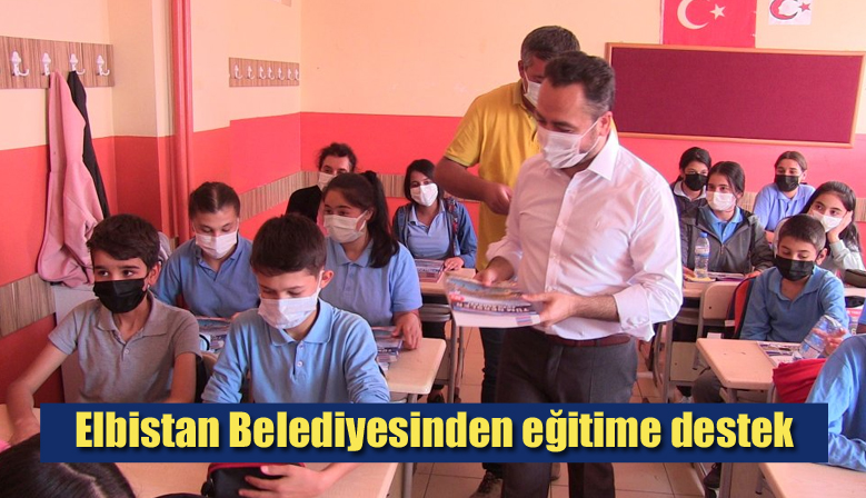 Elbistan Belediyesinden eğitime destek