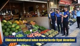 Elbistan Belediyesi'nden marketlerde fiyat denetimi