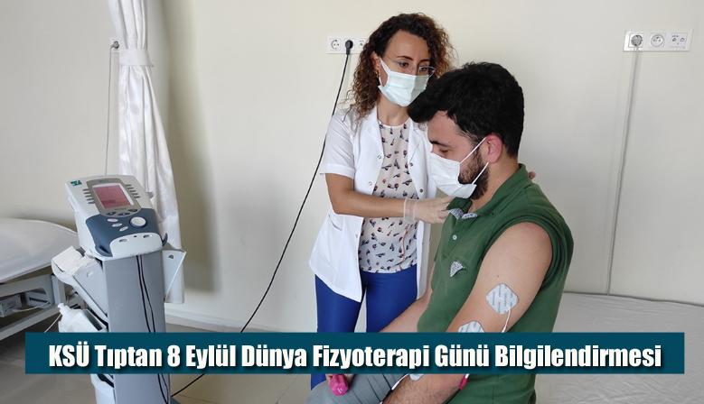 KSÜ Tıptan 8 Eylül Dünya Fizyoterapi Günü Bilgilendirmesi