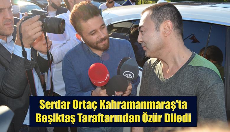 Serdar Ortaç Kahramanmaraş'ta Beşiktaş Taraftarından Özür Diledi
