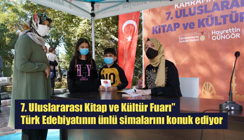 """7. Uluslararası Kitap ve Kültür Fuarı"""" Türk Edebiyatının ünlü simalarını konuk ediyor"""