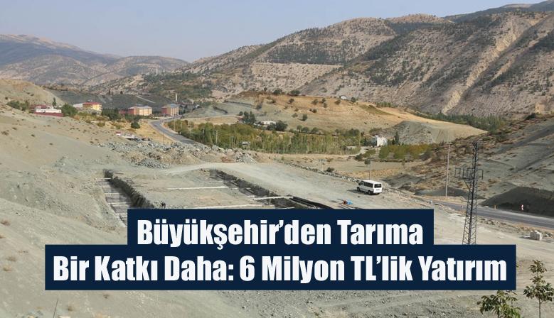 Büyükşehir'den Tarıma Bir Katkı Daha: 6 Milyon TL'lik Yatırım
