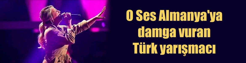 O Ses Almanya'ya damga vuran Türk yarışmacı
